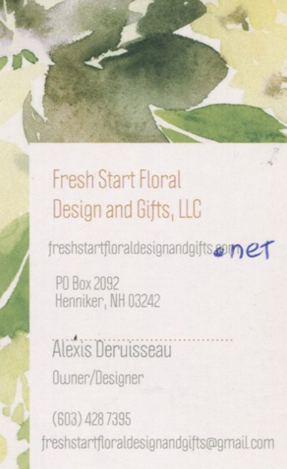 Fresh Start Floral Design & Gifts LLC